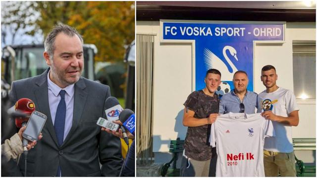 Константин Георгиески со ребалансот на буџетот му додели речиси 50.000 евра народни пари на клубот од Нефи Усеини