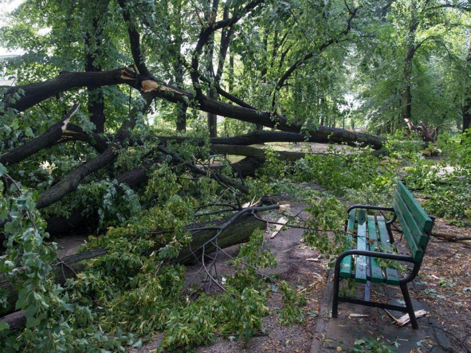 Силно невреме ја погоди Полска, нема струја, куќите останаа без покрив