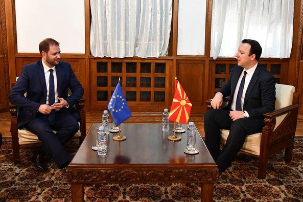 Николоски – Сагарц: Националниот совет за евроинтеграции клучен во пристапните преговори