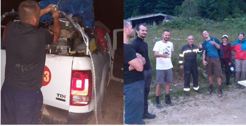 На Шар Планина овредени и изгубени планинари од Чешка