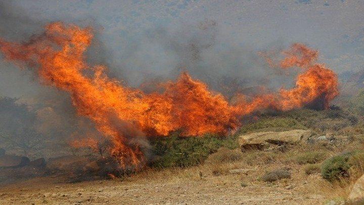 Дождот го изгасна пожарот што четири дена гореше кај село Белица, Бродско