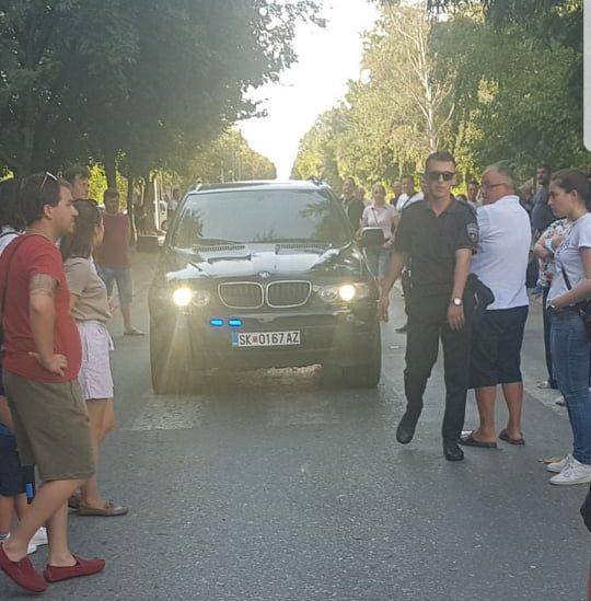 Инцидент на протестот во Железара