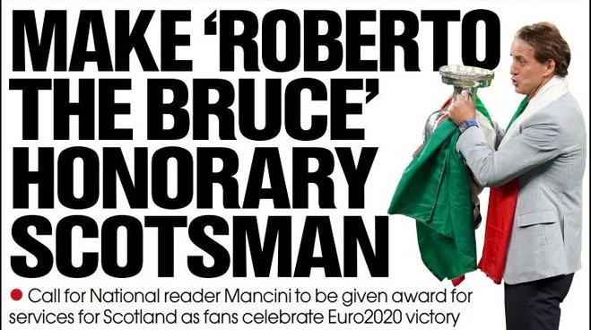 Благодарност што ја победи Англија: Манчини да биде прогласен за почесен граѓанин на Шкотска