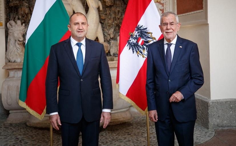 Радев од Австрија: Бугарија е најсилниот поддржувач на проширувањето на ЕУ