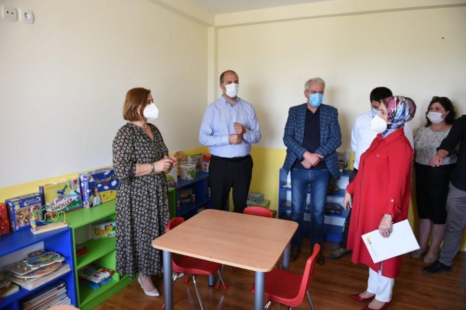 38 деца со интелектуална попреченост ќе добијат нега и рехабилитација во новиот Дневен центар во Липково