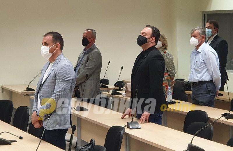 Вељаноски, Ристовски,  и Атаносовски одат во куќен притвор, Јанакиески останува дома