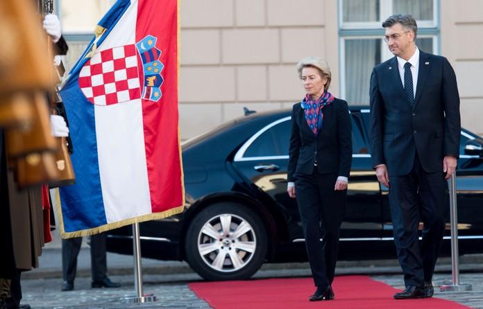 Фон дер Лајен во Загреб ќе го претстави Планот за обновување
