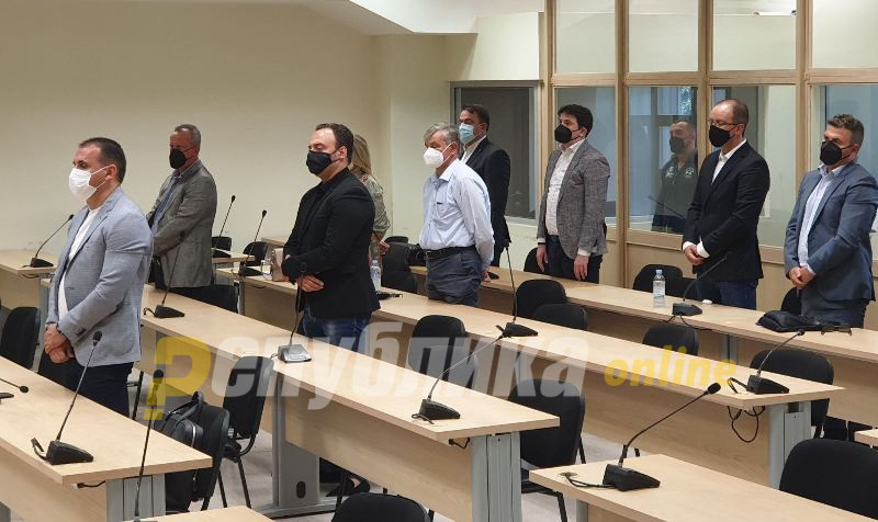 Судот не се ослободи од политичките стеги: По 6 години затвор за Велјаноски, Ристовски, Јанакиески и Атанасовски