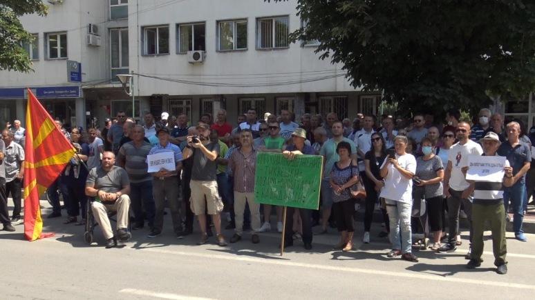 Предупредувачки протест на земјоделците во Прилеп