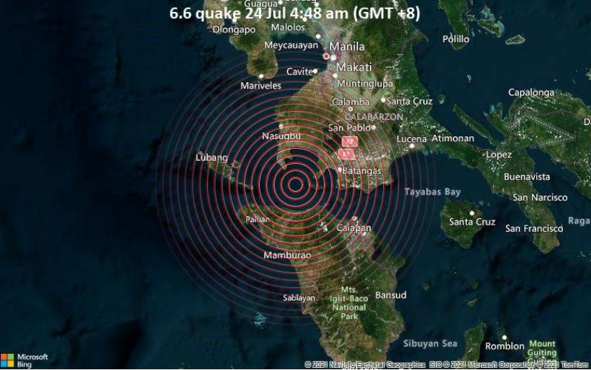 Силен земјотрес ги погоди Филипините
