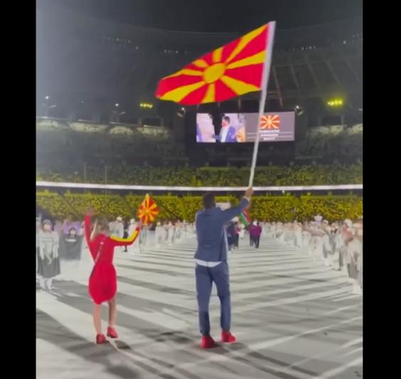 Мисајловски им посака среќа на македонските олимпијци: Гордо се вее македонското знаме во Токио