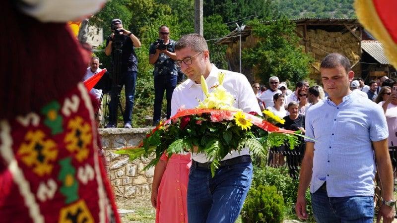 Мицкоски: Илинден обедини генерации Македонци за слобода, испраќам апел за обединување против Заев и рушење на најлошата власт до сега
