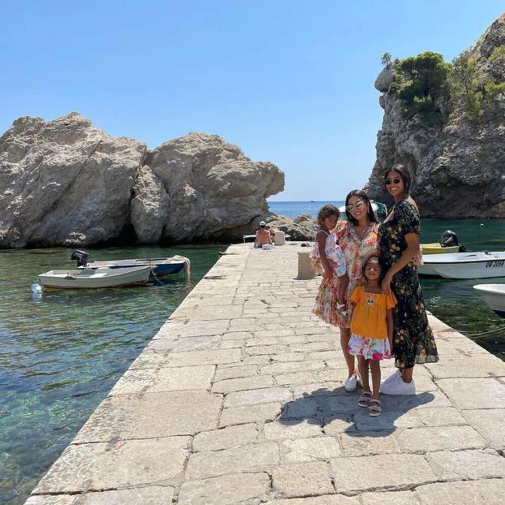 """Сопругата на Коби Брајант на одмор со децата во Дубровник: Ги однесов децата во градот од """"Игра на тронови"""""""
