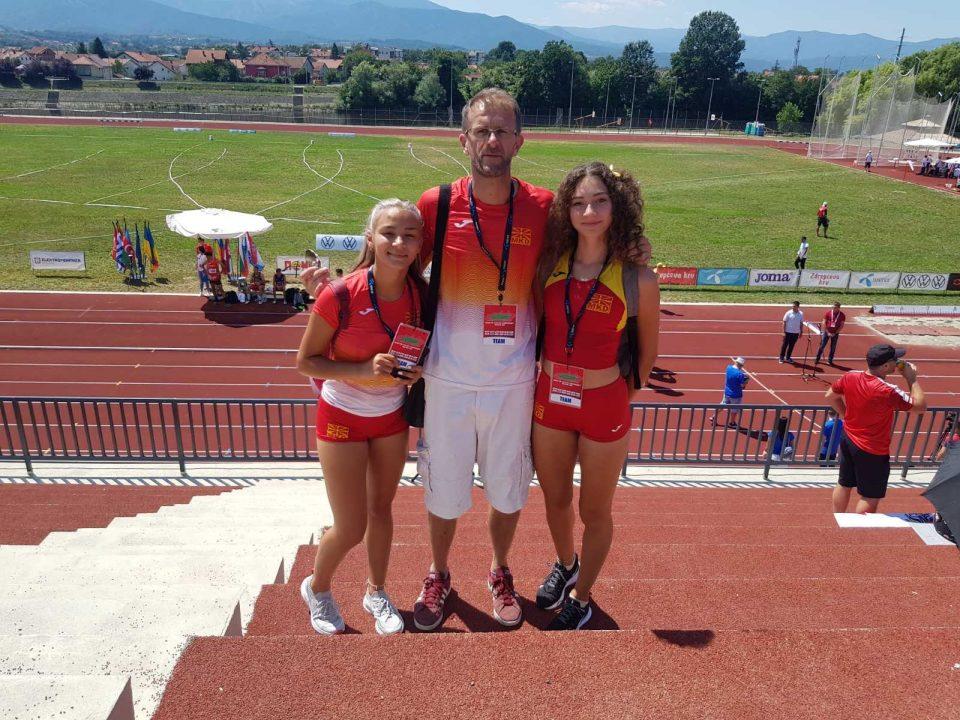 Божиновска 10-та, Османовска 15-та на Балканското атлетско првенство