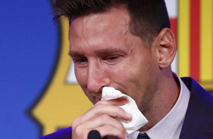 Меси со солзи се прости од Барса