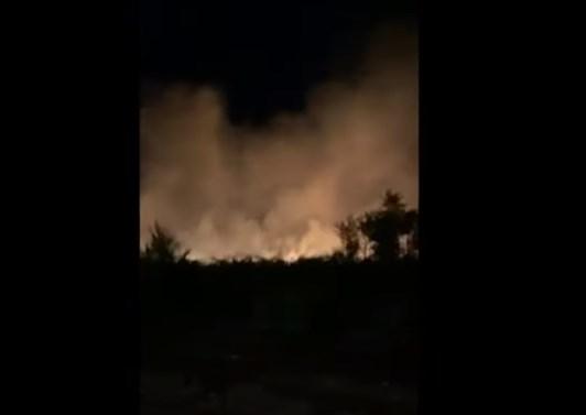 Еве како изгледаа пожарите во Скопје од воздух