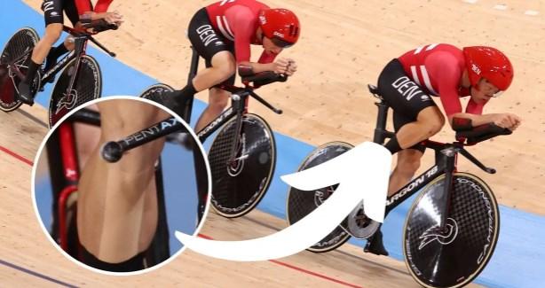 Измама: Данските велосипедисти користеле лента на нозете за поголема аеродинамика