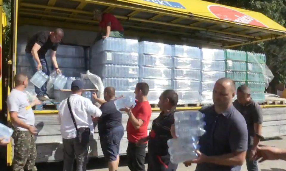 ВО ЖИВО: Пристигна донација од ВМРО-ДПМНЕ во Беровско