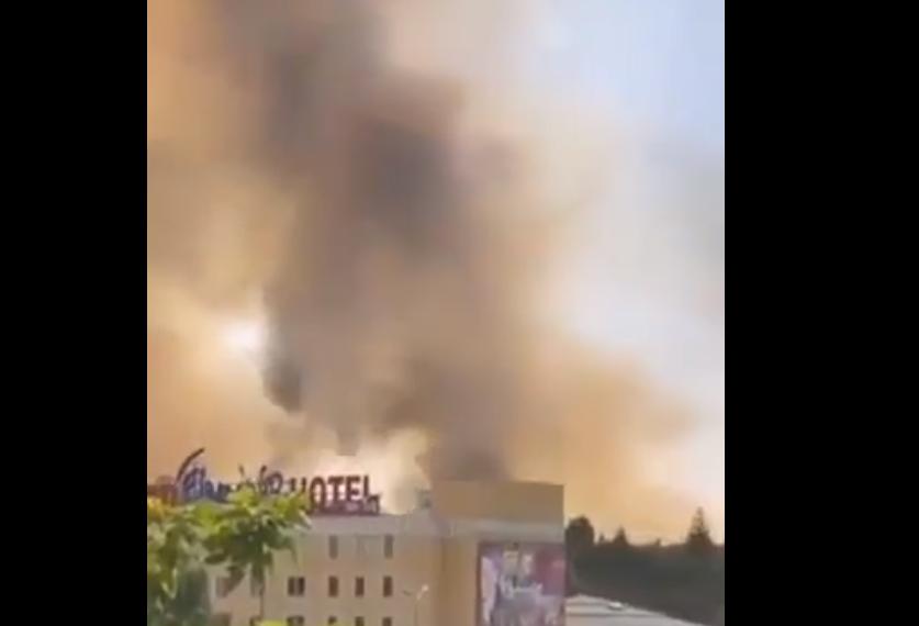 И Гевгелија е буквално во пламен: На 44 степени гори депонијата, никој не прогласува вонредна состојба во градот
