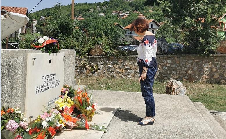 Силјановска: Вечен Илинден, симбол на македонскиот НЕПОКОР! Трогателна прослава во Ташмаруниште, еден од центрите на отпорот