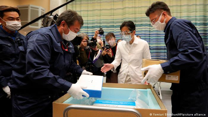 """Двајца починати откако примиле втора доза од вакцината на """"Модерна"""" во Јапонија"""