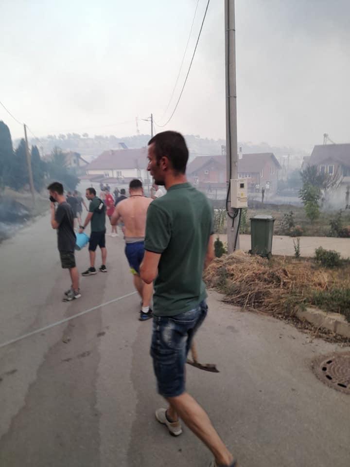 ДЗС: Граѓаните да се вклучат доброволно на местата каде што има пожари