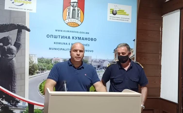 Димитриевски: Изгасени се 9 пожари во кумановскиот регион
