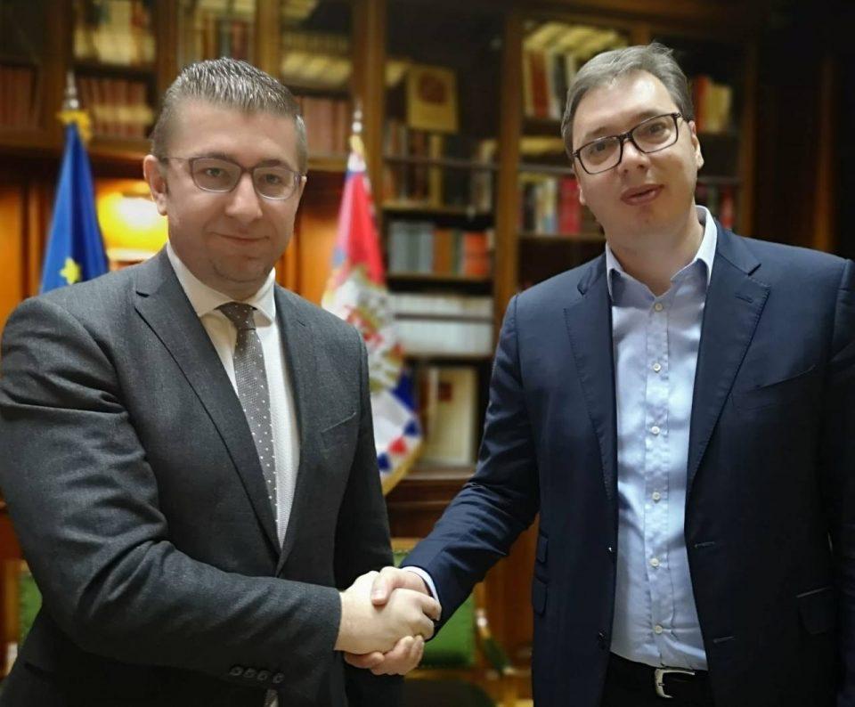 """Мицкоски – Вучиќ: """"Мини Шенген"""" не е алтернатива на ЕУ туку премостување на бариерите и развој на државите"""