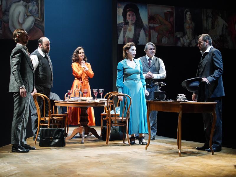 """Претставата """"На отворено море"""" во режија на Егон Савин, во изведба на Југословенско драмско позориште го затвора """"Охридско лето"""""""