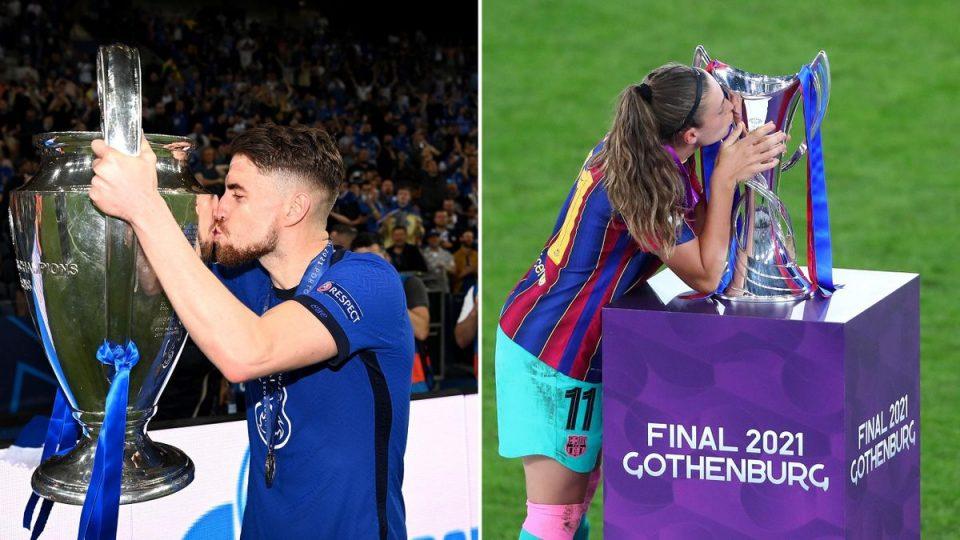 Жоржињо и Путељас прогласени за фудбалер и фудбалерка на годината во Лигата на шампионите