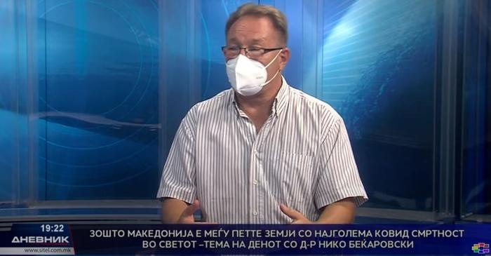 Д-р Беќаровски:  Наместо пробиотици, даваме антибиотици зошто уште нема јасен протокол за лекување на делта сојот