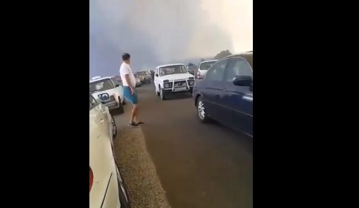 Алармантна состојбата на патот Пехчево-Делчево – огнот се шири
