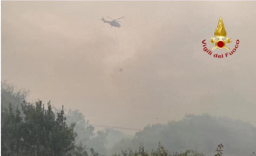 Италија гори: За 24 часа над 800 пожари!