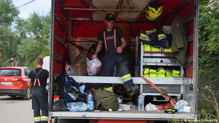 Австриски пожарникар повреден во пожарите кај Беровско, се прават напори да се обезбеди негов итен транспорт за Виена