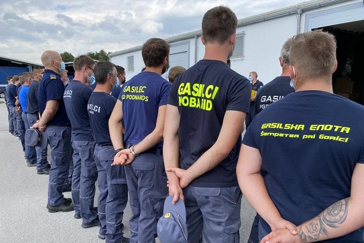 Словенија испрати 16 противпoжарни возила и 46 пожарникари во Македонија