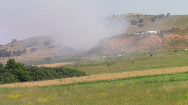 Изгаснат пожарот во близина на кичевското село Србјани