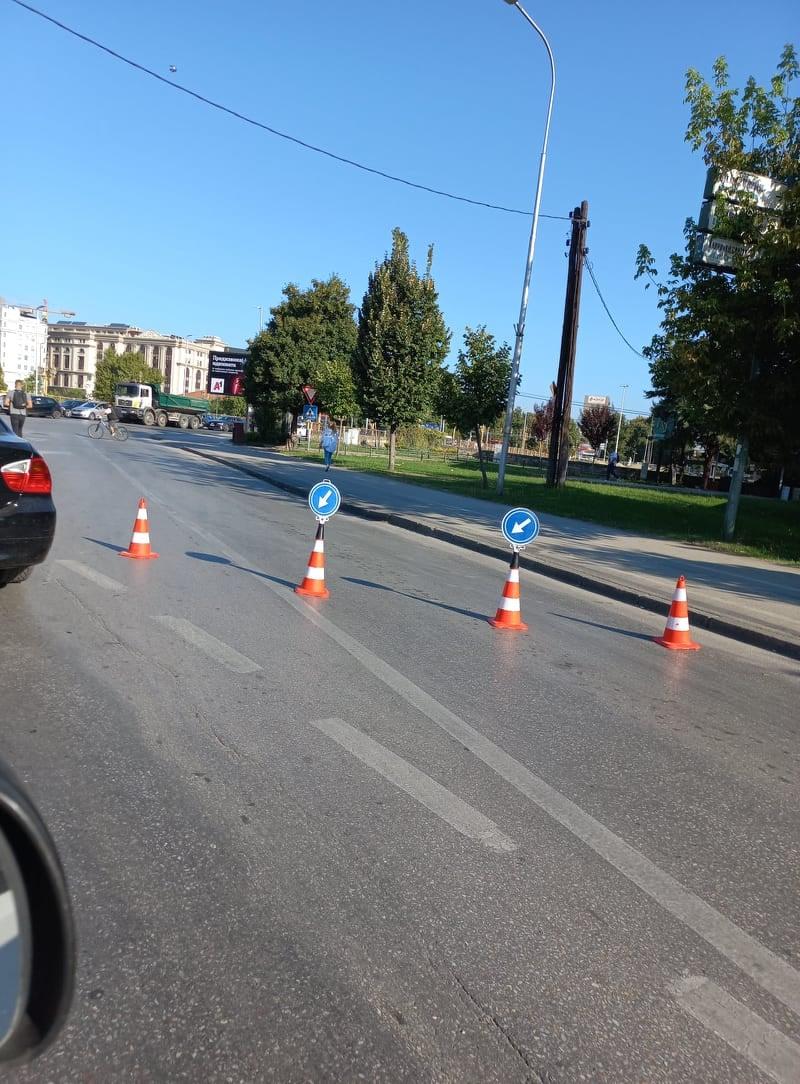 Нормално е да се реконструира булеварот кај МАНУ кога ќе заврши летото, како инаку ќе се блокира цел град