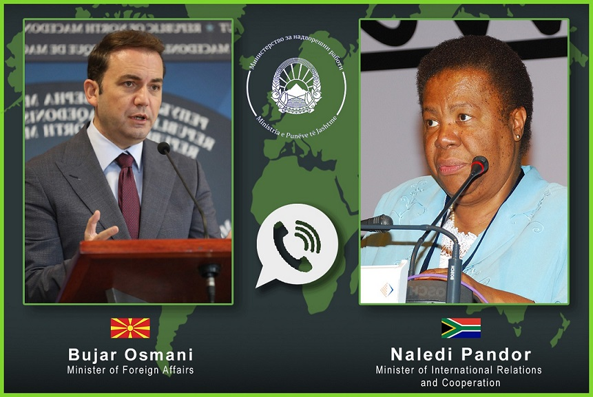 Се разговара за воспоставување дипломатски односи и зајакнување на трговската размена со Јужна Африка