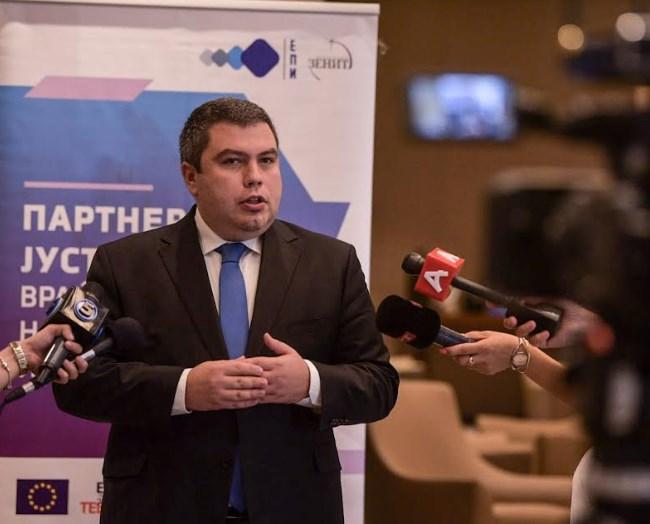 Маричиќ: Се враќа довербата на граѓаните во судството