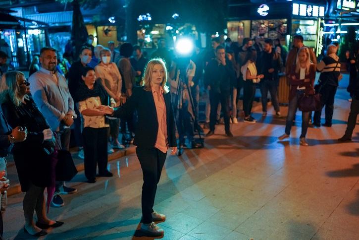 Данела Арсовска од Карпош: На Скопје му недостасуваат култни културни места!