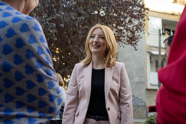 Данела Арсовска од Центар: Скопје му недостига на скопјани! Заедно ќе ги менуваме работите за модерно Скопје!