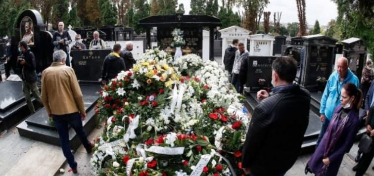 Гробот на Дуда Ивковиќ до тој на Аркан