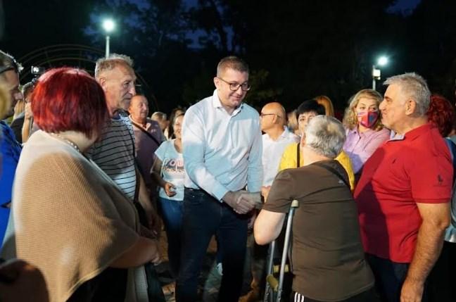 Мицкоски: Ќе ми биде чест заедно со народот да покажеме разлика и да ја поразиме криминалната коалиција СДСМ –ДУИ