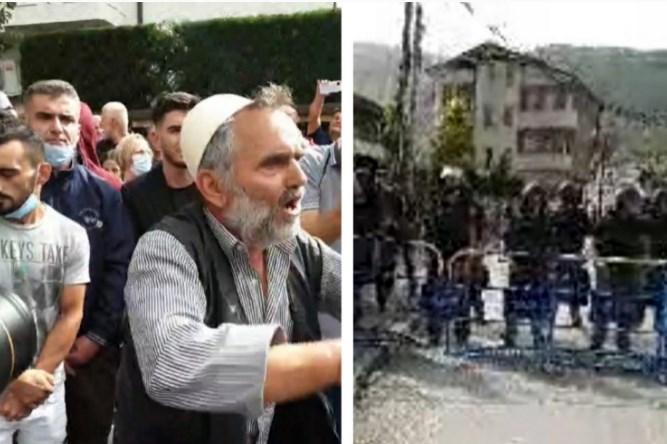 Приведени уште две лица од вчерашниот протест во Мала Речица