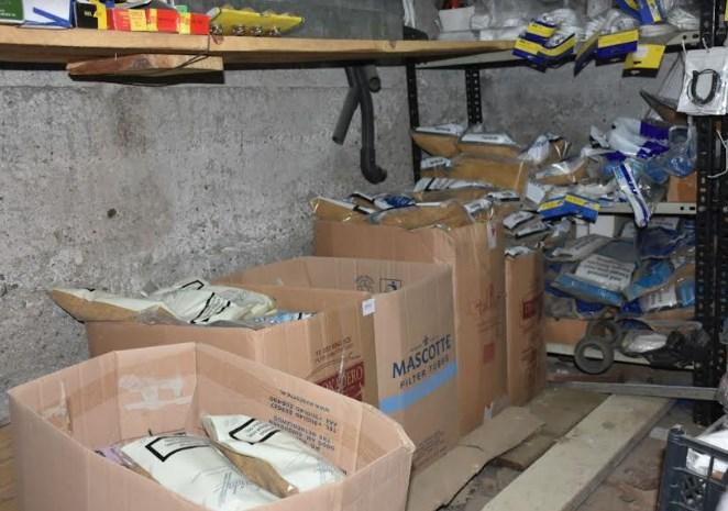 Полицијата на Зелено пазарче барала режан тутун