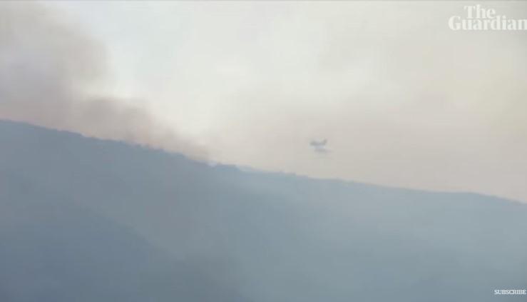 Илјадници евакуирани поради пожарите во Шпанија