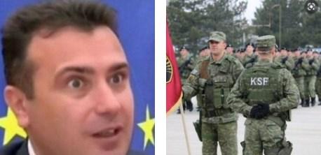 Со пуштањето на т.н. војска на Косово да влезе во Македонија, Заев крши резолуција на Обединетите нации