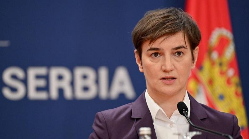 Брнабиќ: ЕУ не прави ништо по прашањето за Косово, тие треба да го почитуваат својот збор