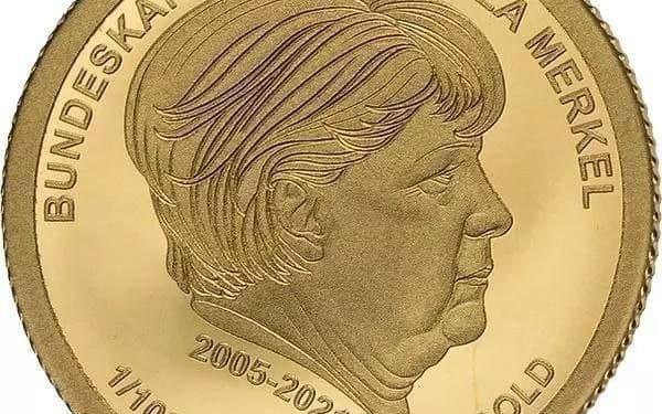 Германија пушти во продажба златници со ликот на Ангела Меркел