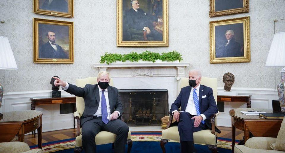 Џонсон и Бајден договорија да имаат идентични политики кон Русија и Кина